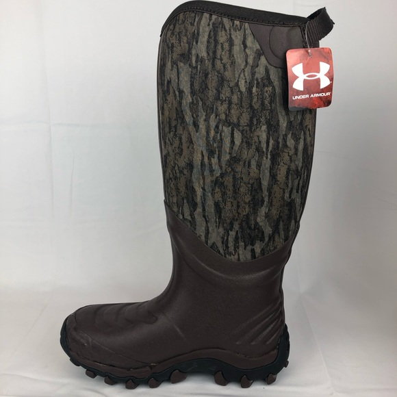 8a5e3c575d1 Under Armour H.A.W Mossy Oak Camo Hunting Boots NWT